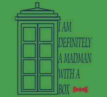 Madman With A Box by Amanda Vontobel Photography