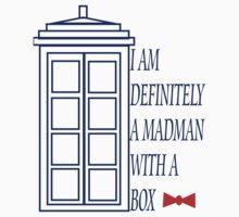 Madman With A Box Kids Tee