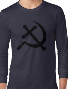 Cross and Sickle Long Sleeve T-Shirt