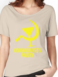 Communists Party Women's Relaxed Fit T-Shirt