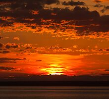 Sunset - Anchorage Alaska by Melissa Seaback