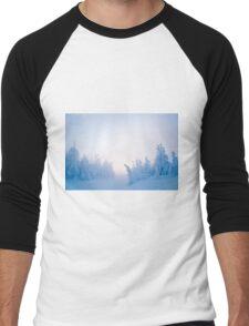 Twilight Snow Men's Baseball ¾ T-Shirt