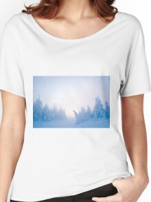 Twilight Snow Women's Relaxed Fit T-Shirt