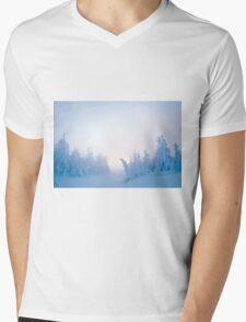 Twilight Snow Mens V-Neck T-Shirt
