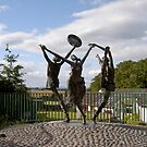 """The Cashel Dancers"",Bru Boru Cultural Centre,Rock of Cashel,Co. Tipperary. by Pat Duggan"
