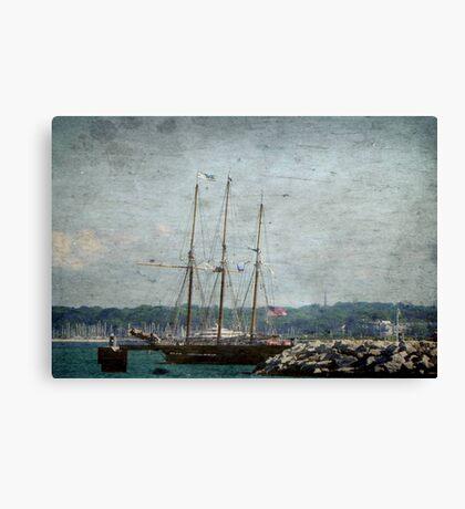 Pirates Ship © Canvas Print