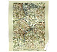 USGS Topo Map Oregon Oregon City 282772 1914 62500 Poster