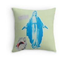Mother of God two Throw Pillow