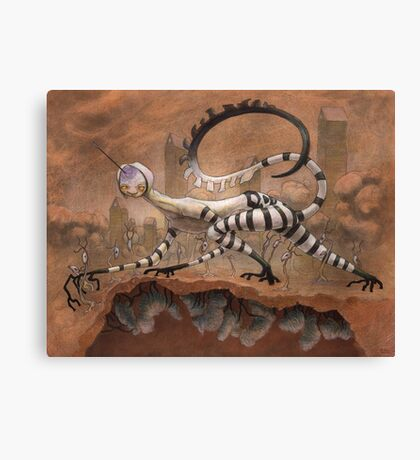 Purgatory of the Swollen Seed  Canvas Print