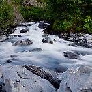 Cascading - Alaska by Melissa Seaback