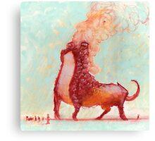 Red Fumer  Canvas Print