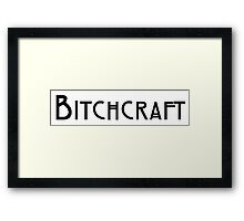 American Horror Story - Bitchcraft Framed Print