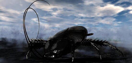 Native Goliath Cockroach by XadrikXu