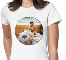 Thread Carousel and Lace Womens Fitted T-Shirt