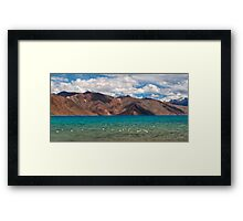 Pangong Lake-1/2011 Framed Print