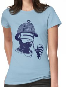 Sherlock Holmes and the Robocop Case Womens Fitted T-Shirt