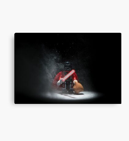 Vader Clause Canvas Print