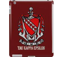 TKE - Coat of Arms for Dark Colors iPad Case/Skin
