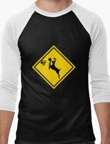 Deer Dunk Men's Baseball ¾ T-Shirt
