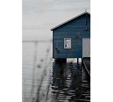 """Crawley Edge"" Boat Shed Photographic Print"