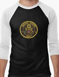 Army Retired Men's Baseball ¾ T-Shirt