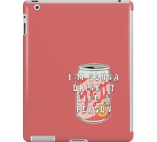 Pitt Cola iPad Case/Skin