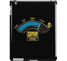 The Force o meter iPad Case/Skin