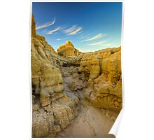 Arid and Eroded Poster