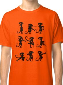Ministry of Alien Silly Walks (Black Version) Classic T-Shirt