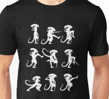 Ministry of Alien Silly Walks (White Version) Unisex T-Shirt