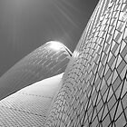 Sydney Opera House in Black and white by Zeefive Photos