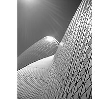 Sydney Opera House in Black and white Photographic Print