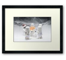 A Chill Wind Blows Framed Print