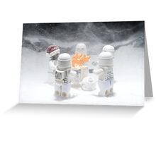 A Chill Wind Blows Greeting Card