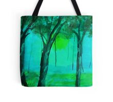 Going into the mist, watercolor Tote Bag
