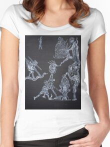 A GODLIKE LIFE Women's Fitted Scoop T-Shirt