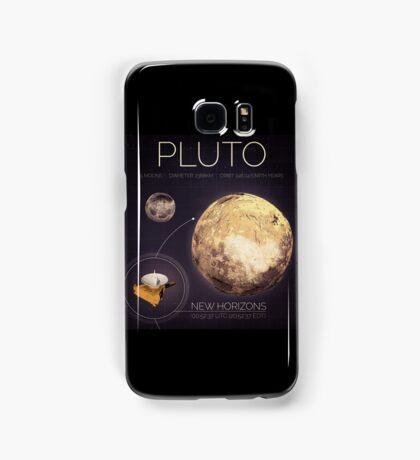 Planet Pluto Infographic NASA Samsung Galaxy Case/Skin