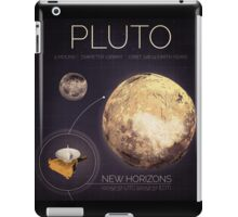Planet Pluto Infographic NASA iPad Case/Skin