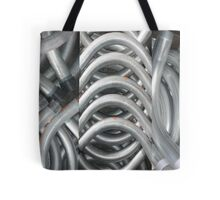 curving conduits Tote Bag