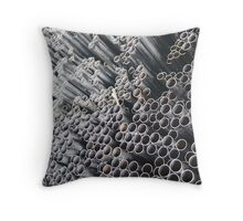 More Pipe Ends ~ pillow collection Throw Pillow