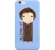 Tenth Doctor Doctor Who kokeshi doll iPhone Case/Skin