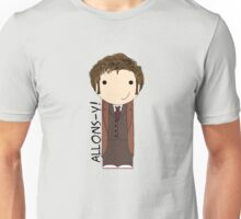 Tenth Doctor Doctor Who kokeshi doll Unisex T-Shirt