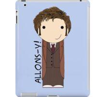 Tenth Doctor Doctor Who kokeshi doll iPad Case/Skin