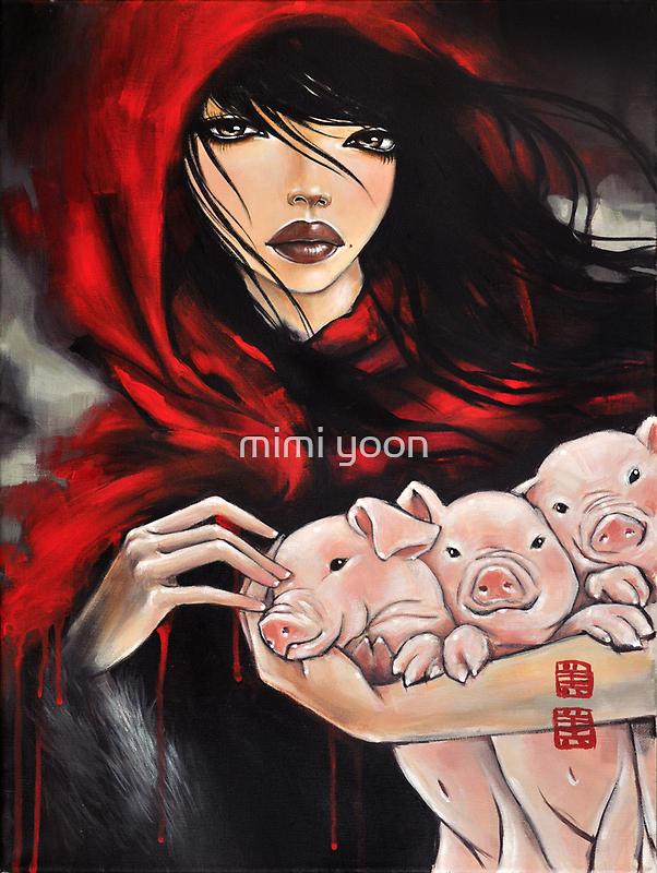 big bad wolf by mimi yoon