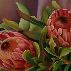 Proteas by Martha Mitchell