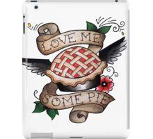 Pie/Angel Flash Tattoo iPad Case/Skin