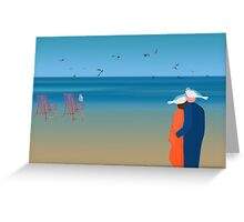 Seagulls - day 20 Greeting Card