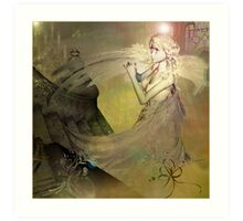 Angel Ashriel    Art Print