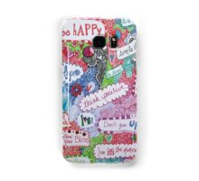 Positive Affirmation Doodle Samsung Galaxy Case/Skin