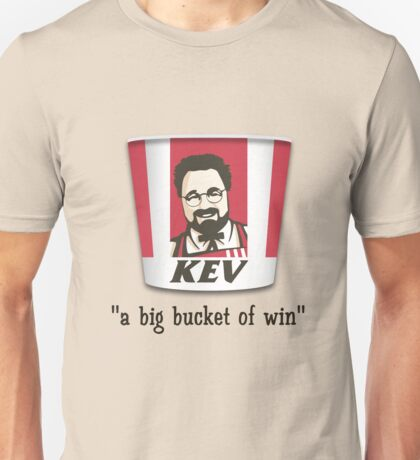 A Big Bucket of Kev Unisex T-Shirt